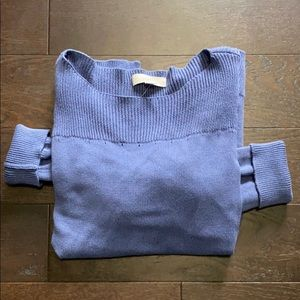 LOFT Dusty Blue Sweater